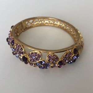 Jewelry - Lilac Stoned Vintage Cuff